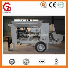 Diesel Engine Concrete Spray Pump with Hopper Capacity 400L