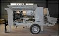 Output15m3/h GPS-15 Diesel Engine Concrete Spray Pump