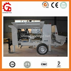 Output15m3/h GPS-15 Hydraulic System Shotcrete Pump