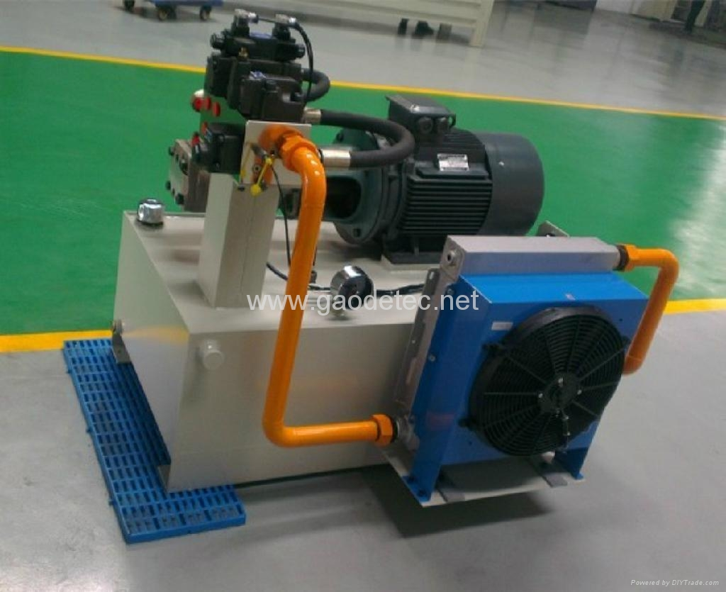 Compact Hydraulic Power Pack With Cooler Gghp 20 30 15