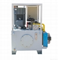 we also could according to your demands offer suitable type hydraulic power unit