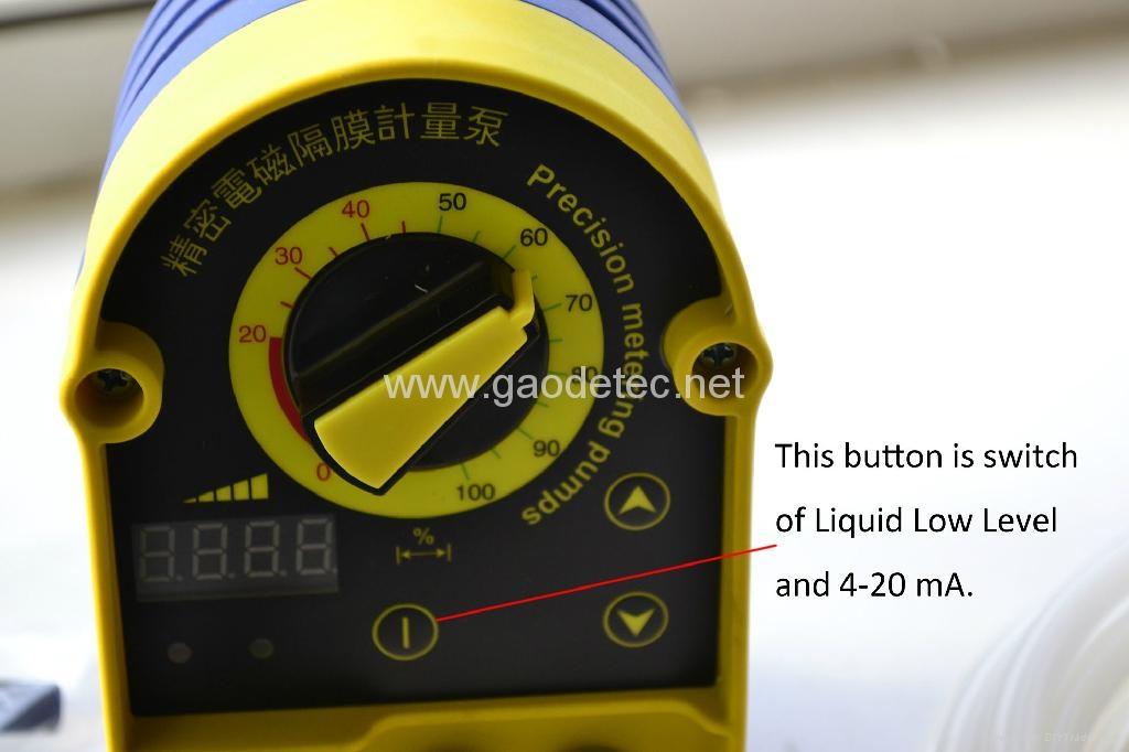 chlorine solenoid diaphragm dosing pump