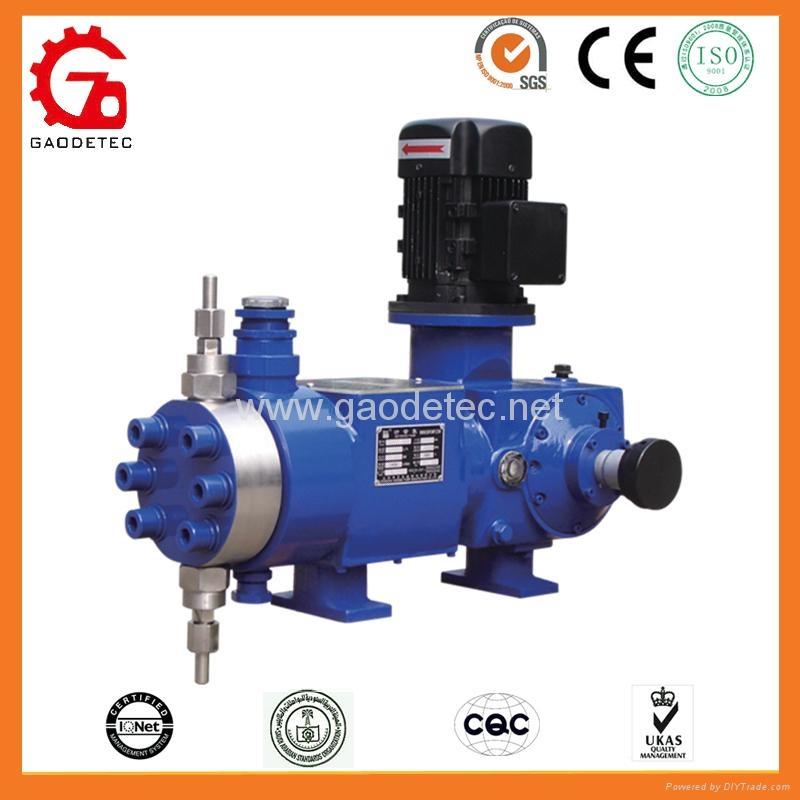 high pressure hydraulic diaphragm metering pumps