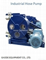 Peristaltic grout pump