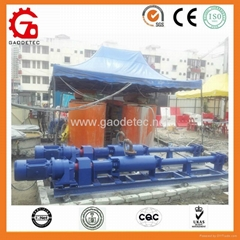 G type single rotary screw pump efficiency