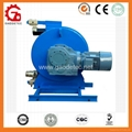 hose pump for Conveying of fiber contained fluid, dye and waste water