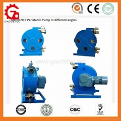 hose pump for conveying of water and waste water