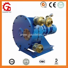 hose pump for conveying of pulp, color and glues