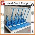 Mini hand grouting pump