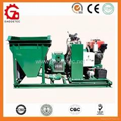小型柴油機混凝土泵