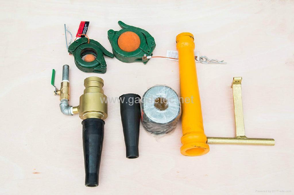 小型柴油機混凝土泵 7