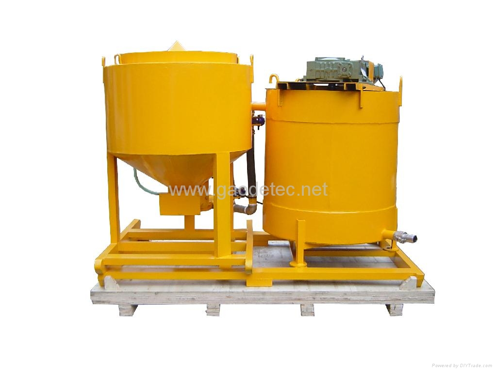Different angles of grout mixer and agitator for sale