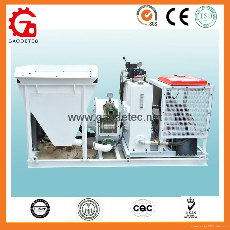 Gasoline wet concrete pump to Japan