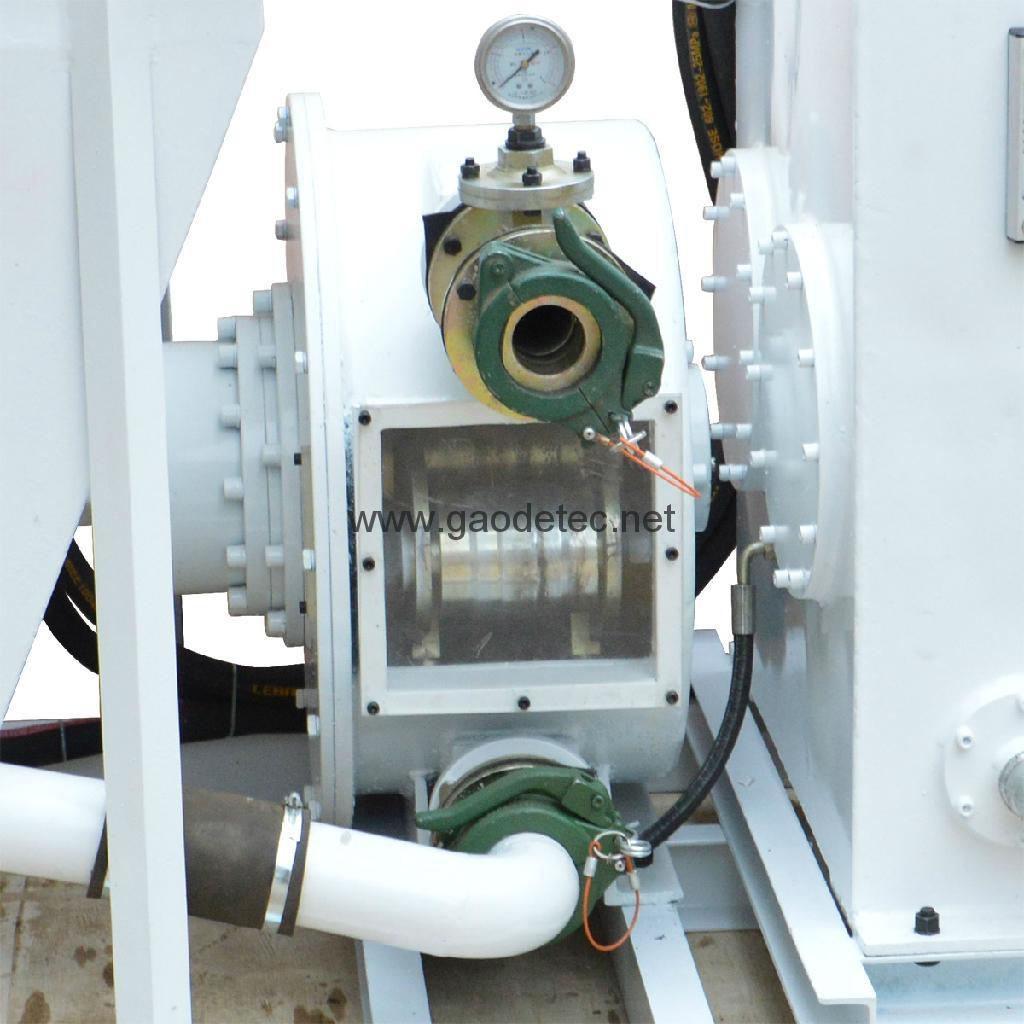 hose pump head for wer cellular light concrete pump