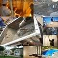 Other application of the cellular light  wet concrete pump