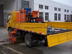 GD18L-2 Double cylinders and pumps cold paint truck-mounted road marking machine