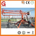 Mobile Placing Radius 12m 15m 18m Concrete Placing Boom