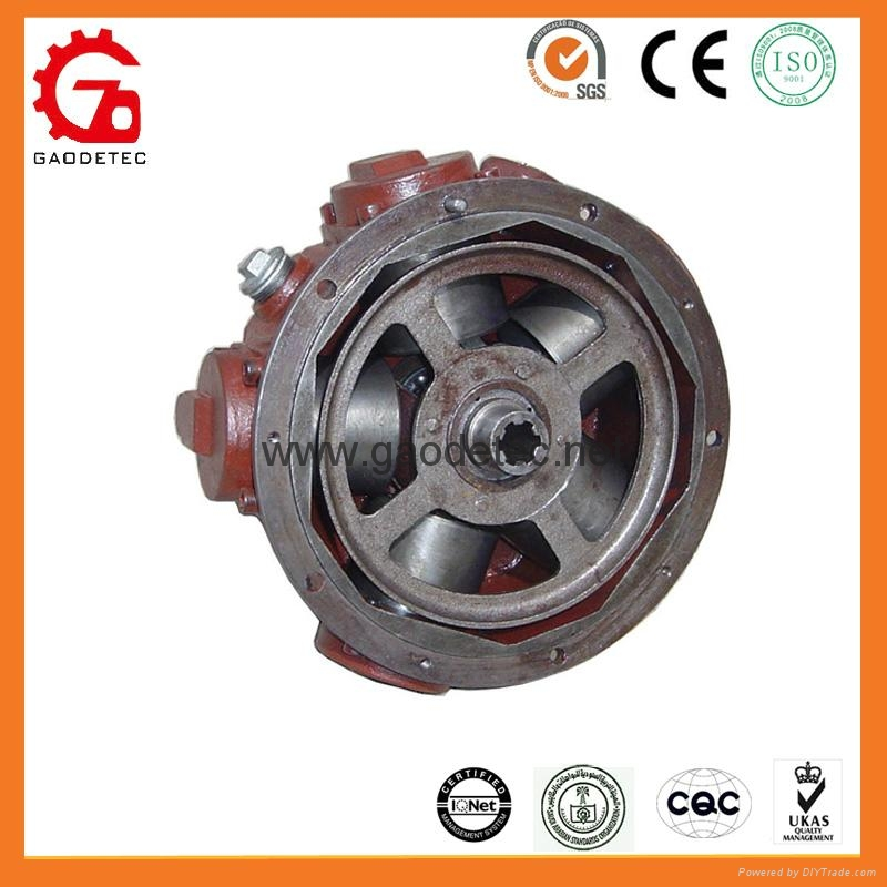 High performance low speed piston air motor gmh3b for High speed air motor