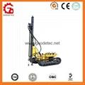 Easy operation crawler borehole rock drilling machine