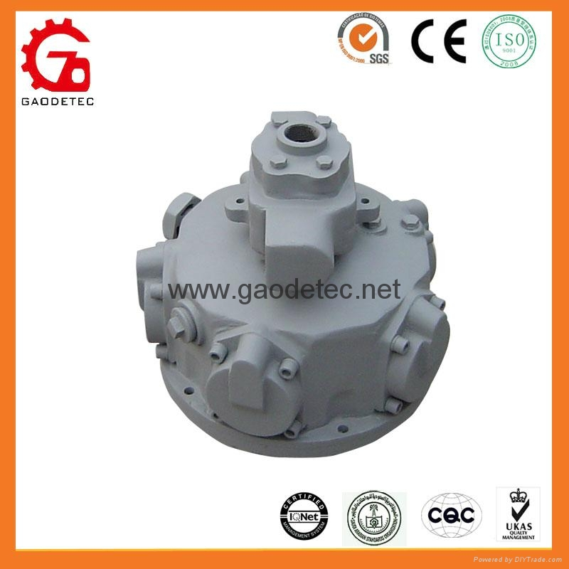 piston type pneumatic motor