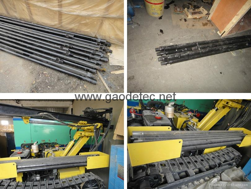 Easy operation crawler borehole rock drilling machine 6
