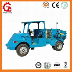 GPC5-15S vehicular hydraulic concrete pump wet shotcrete machine