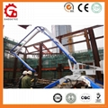 Placing Radius 13m Mobile Hydraulic Concrete Placing Boom