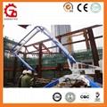 Placing Radius 17m Mobile Hydraulic Concrete Placing Machine