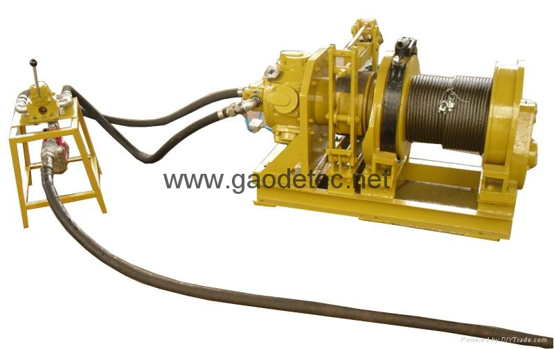 2 ton piston air winch