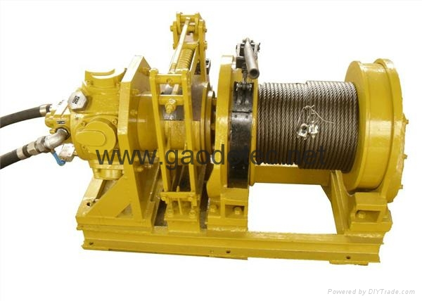 2 ton pneumatic winch