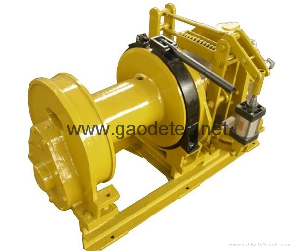 2 ton piston pneumatic winch