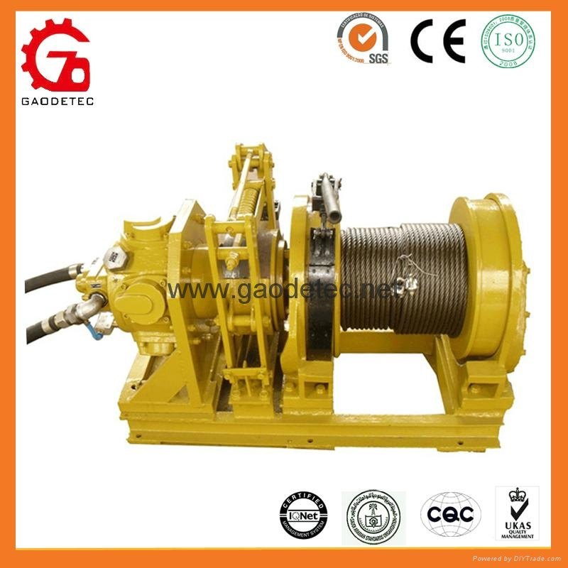 2 ton air winch