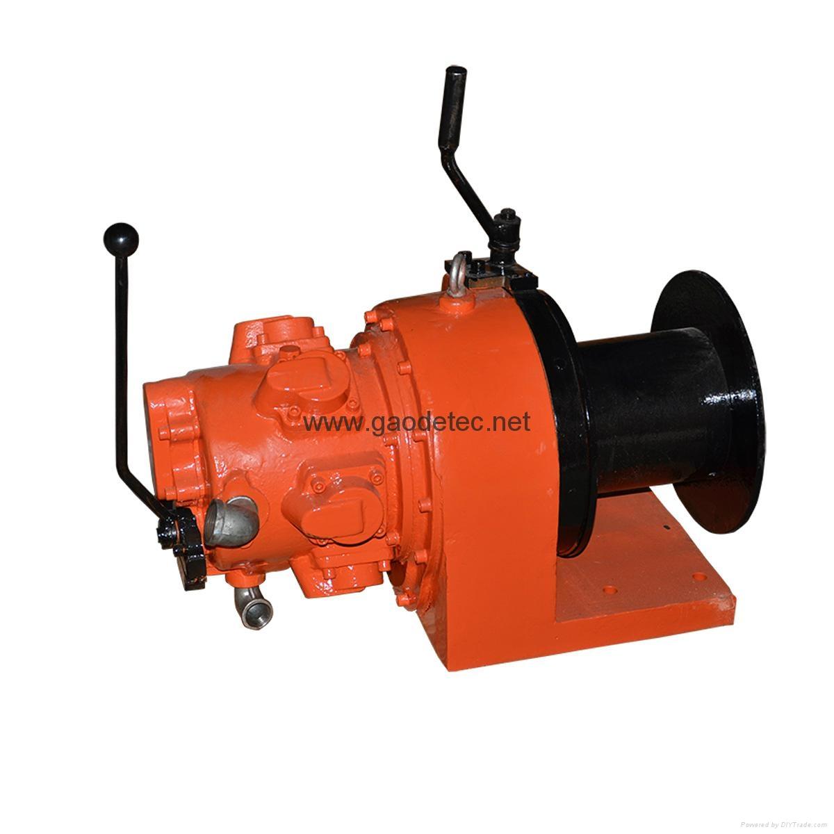 1 ton piston air winch