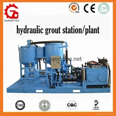 GGP250/350/100 PI-D  hydraulic diesel engine  grout mixer and pump