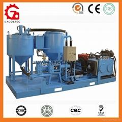 GGP250/350/100 PI-D hydraulic continuous grout mixer pump