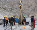 GL-4000 Crawler full hydraulic jet drill rig