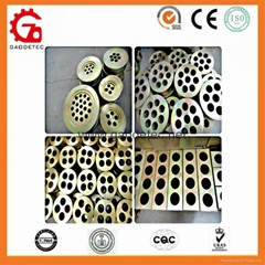 12.7mm 15.24mm Prestressed Concrete Anchor Plate