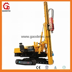 Middle-side Hydraulic Mini Piling Machine For Solar Posts