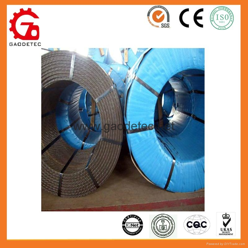PC steel wire concrete cable