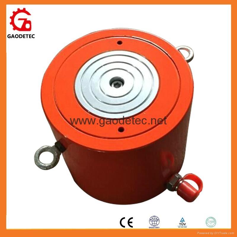 ultrathin single acting hydraulic jack