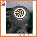 hollow hydraulic cylinder for prestressed anchor
