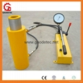 double acting hydraulic hollow jack