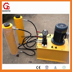 Double Acting Electric Oil Pump for Lifting Hydraulic Cylinder