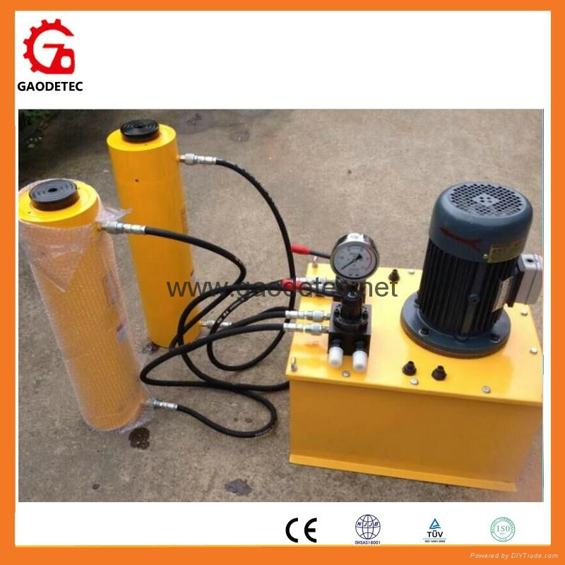 Electric Pump Station for Lifting Hydraulic Jack Cylinder 7
