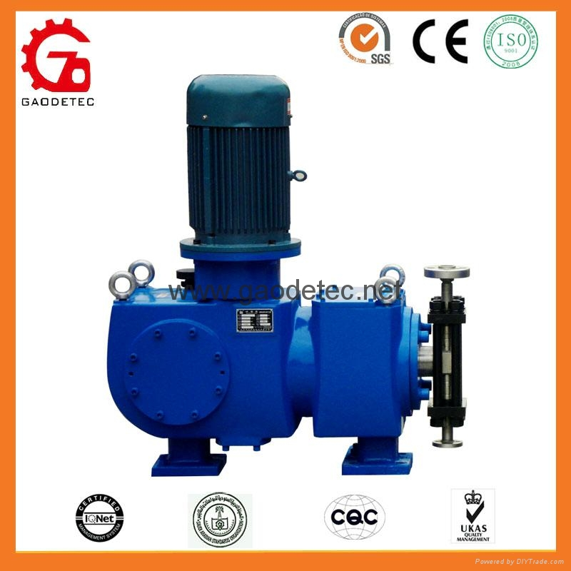 High Pressure Chemical Plunger Dosing Pump