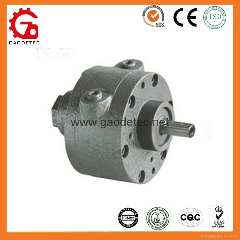 face mounting vane air motor