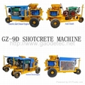 Shotcrete machine supplier from China