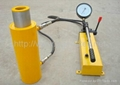 Double Acting Hollow Hydraulic jack Cylinder for sale