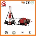 GD90 hydraulic&pneumatic borehole drilling rig
