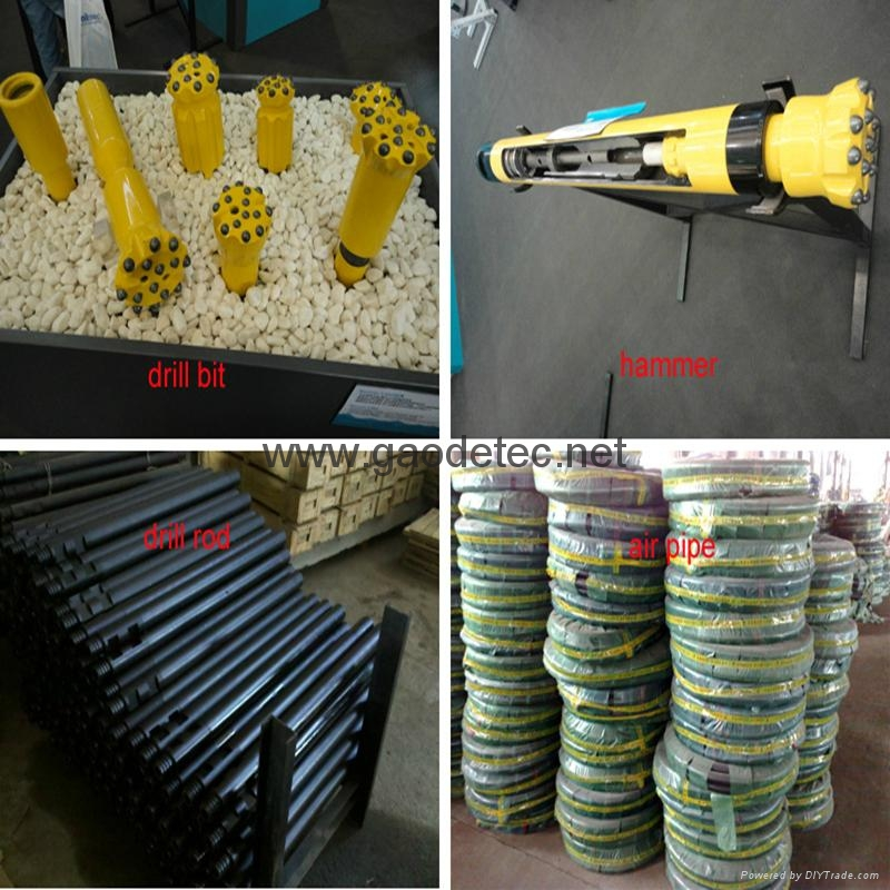 Gold mining drilling rig related spare parts